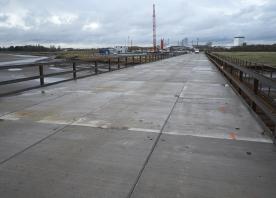 North side trestle bridge – November 2014