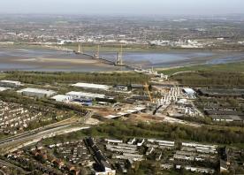 Mersey Gateway Bridge from Runcorn – April 2016