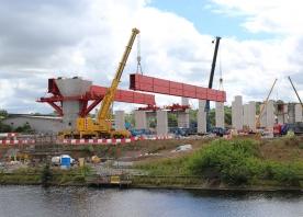 Runcorn MSS girder lift – July 2016