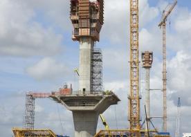 Central pylon – August 2016