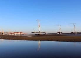 MSS Trinity and the Mersey Gateway Bridge – January 2017