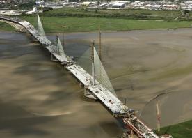 Mersey Gateway pylons – June 2017