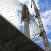 North Pylon on the Mersey Gateway Bridge – July 2017