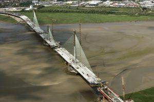 Mersey Gateway pylons - June 2017
